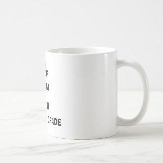 平静を保ち、第11を教えて下さい コーヒーマグカップ