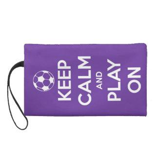 平静を保ち、紫色で遊んで下さい リストレット