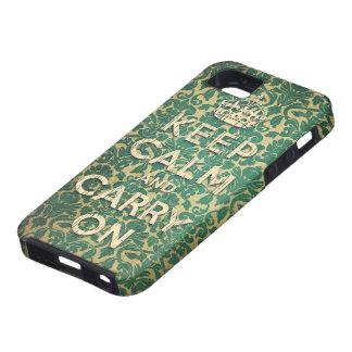 平静を保ち、続けていって下さい iPhone SE/5/5s ケース