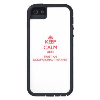 平静を保ち、職業anrapistを信頼して下さい iPhone SE/5/5s ケース