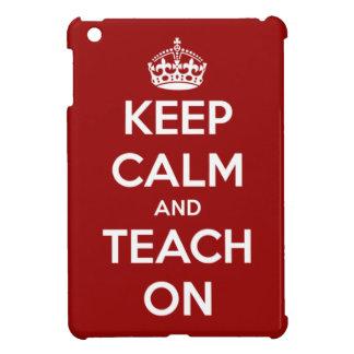 平静を保ち、赤いiPad Miniケースで教えて下さい iPad Miniカバー