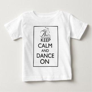 平静を保ち、踊って下さい ベビーTシャツ