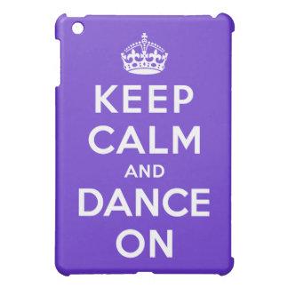 平静を保ち、踊って下さい iPad MINI カバー