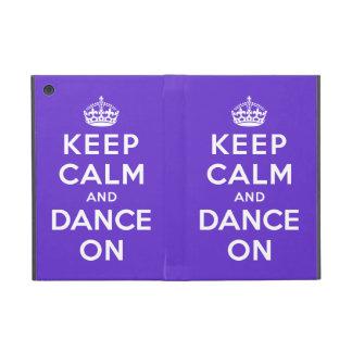 平静を保ち、踊って下さい iPad MINI ケース