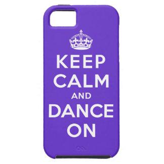 平静を保ち、踊って下さい iPhone SE/5/5s ケース