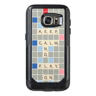 平静を保ち、遊んで下さい オッターボックスSamsung GALAXY S7ケース