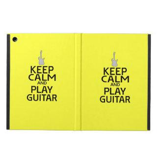 平静を保ち、-黄色の…エレキギターを演奏して下さい iPad AIRケース