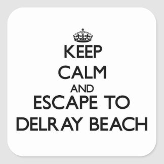 平静を保ち、Delray Beachフロリダに脱出して下さい スクエアシール