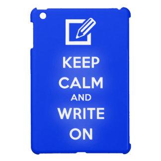 平静を保ち、iPad Miniケースで書いて下さい iPad Mini Case
