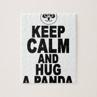 平静を保ち、panda.pngを抱き締めて下さい ジグソーパズル