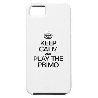 平静を保ち、PRIMOを遊んで下さい iPhone SE/5/5s ケース