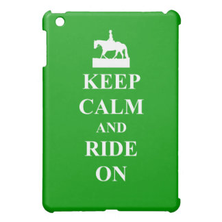 平静を保って下さい及び乗って下さい iPad MINIカバー