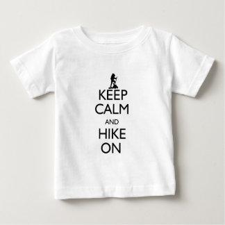 平静を保って下さい ベビーTシャツ