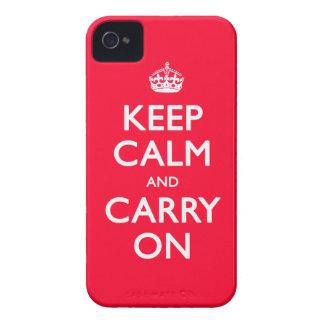 平静を保って下さい Case-Mate iPhone 4 ケース