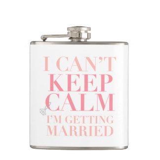 平静を保つことができません-私はフラスコを結婚しています フラスク