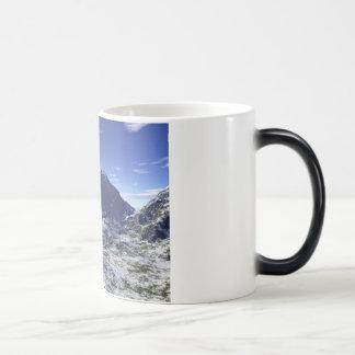 平静を発見して下さい モーフィングマグカップ