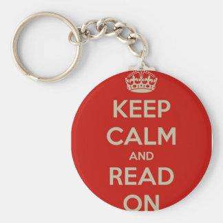 平静を読まれる保てば キーホルダー