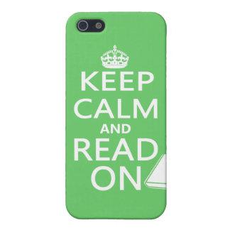 平静を読まれる保てば iPhone 5 ケース
