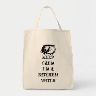 平静を、私あります台所魔法使いが保って下さい トートバッグ