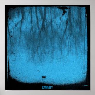 平静シリーズ: 湖青いTTV ポスター