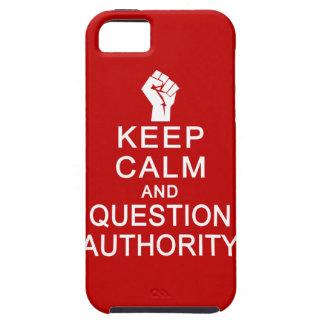 平静及び質問権限のiPhone 5の穹窖を保って下さい iPhone SE/5/5s ケース