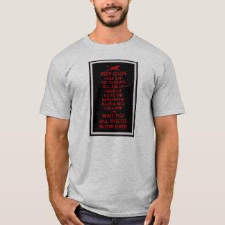 平静-死者のショーン--を保って下さい Tシャツ