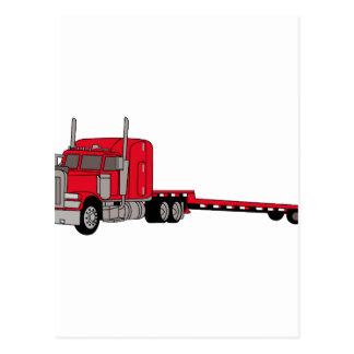 平面トラック ポストカード