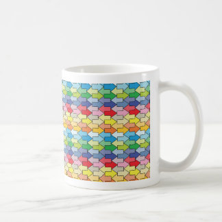 平面充填 コーヒーマグカップ