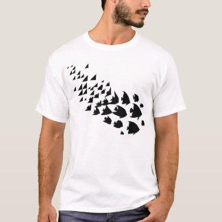 平面充填 Tシャツ