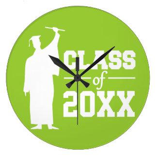 年のカスタムな柱時計のクラス ラージ壁時計