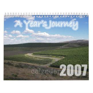 年の旅行 カレンダー