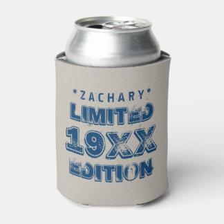 年の限定版のグランジな文字A01 缶クーラー
