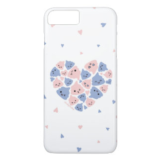 年のPantone色のかわいい(大きい脂肪)愛 iPhone 8 Plus/7 Plusケース