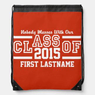 年カスタムな文字及び色のバックパックのクラス ナップサック