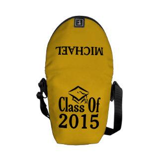 年カスタムな文字及び色のmessengerbagのクラス クーリエバッグ