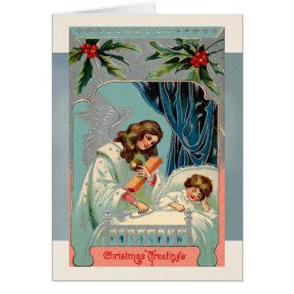 年賀状のためのクリスマスの挨拶 カード