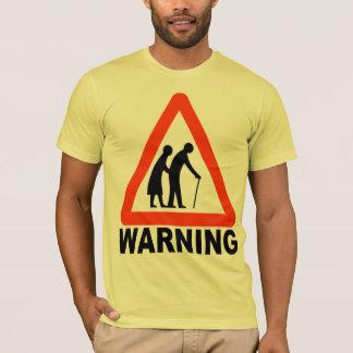 年配の交差-退職 Tシャツ