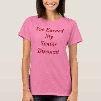 年長の割引 Tシャツ