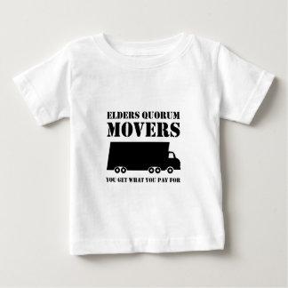 年長者の定足数の引越し業者: 2の支払うもの得ます ベビーTシャツ