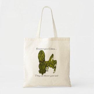 年長者のCthulhuのあなたのバッグを尊重して下さい トートバッグ