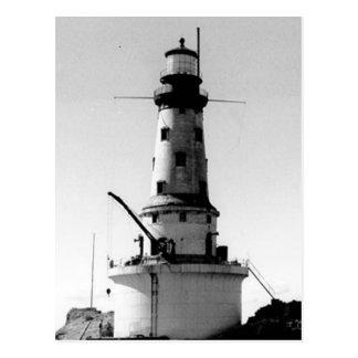 年齢の灯台の石 ポストカード