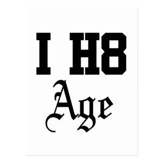 年齢 ポストカード
