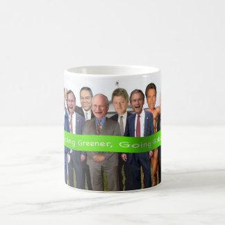 年齢-行く緑の行く全体的にマグのバラク コーヒーマグカップ