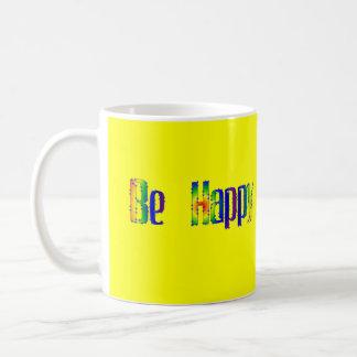 幸せがあって下さい コーヒーマグカップ