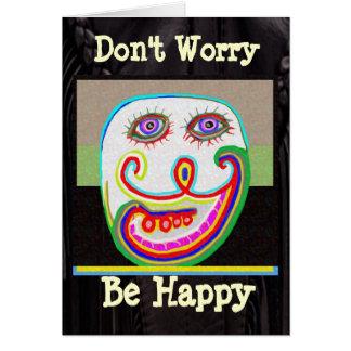 幸せが心配しないで下さい、あって下さい カード