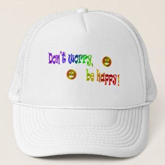 幸せが心配しないで下さい、あって下さい! 帽子