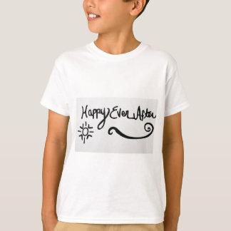 幸せその後ずっと Tシャツ