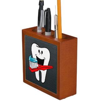 幸せできれいな歯 ペンスタンド