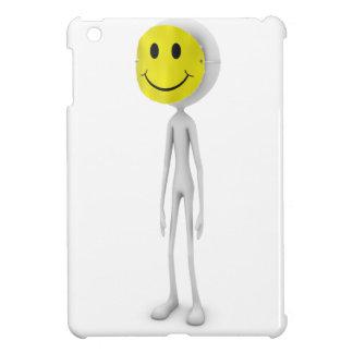 幸せでにこやかなマスク iPad MINI CASE