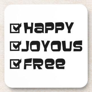 幸せで嬉しい自由 コースター